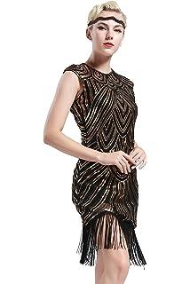 20 1920s Gatsby Babeyond Abito Donne Donna Vestito Anni qaA4WB