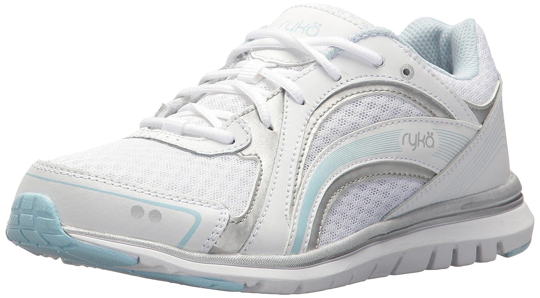 Ryka Women's Aries Walking Shoe B075MKTD2Q 9.5 W US|White/Blue