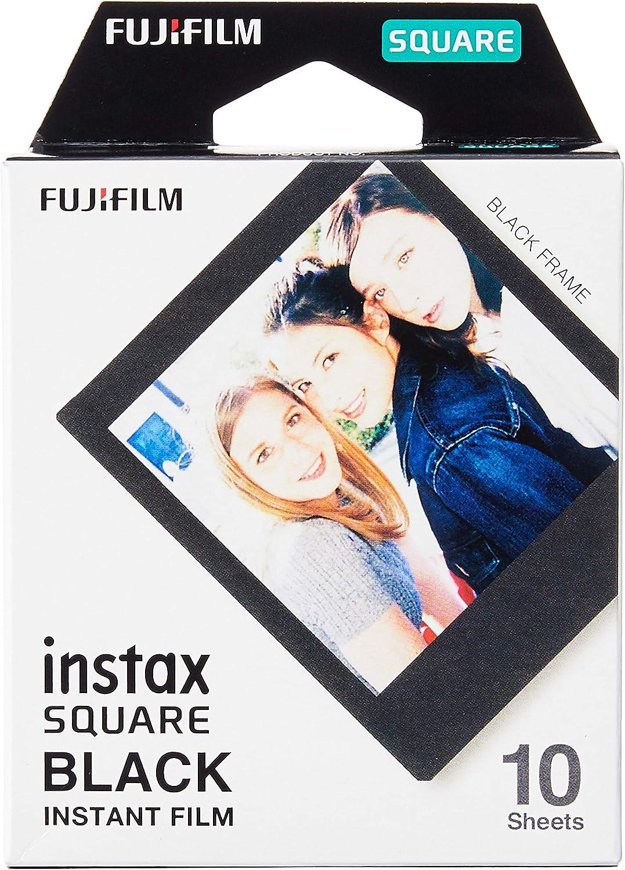 Fujifilm Instax Square Frame Ww1 Colorfilm Schwarz Kamera