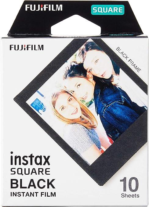 Comprar Fujifilm instax Square Black, película instantanea, 10 fotos