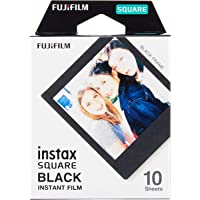 instax SQUARE Film Black Ram, 10 pack