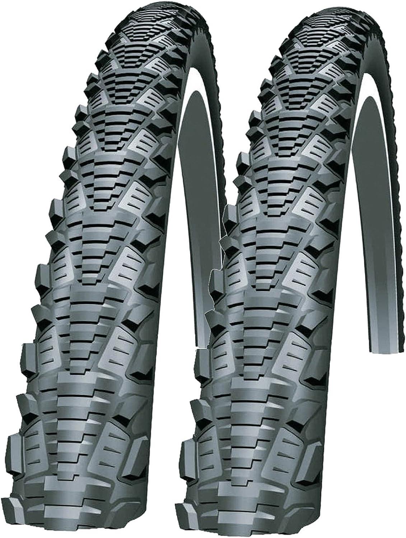 2 700  X 32//40C  Bike Bicycle Tyre Inner Tubes Commuter  Schrader Valve Pair