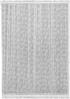 product image for Heritage Lace Starfish Door Panel, 45 by 40-Inch, White