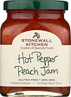 product image for Stonewall Kitchen Hot Pepper Peach Jam, 11.25 Ounces