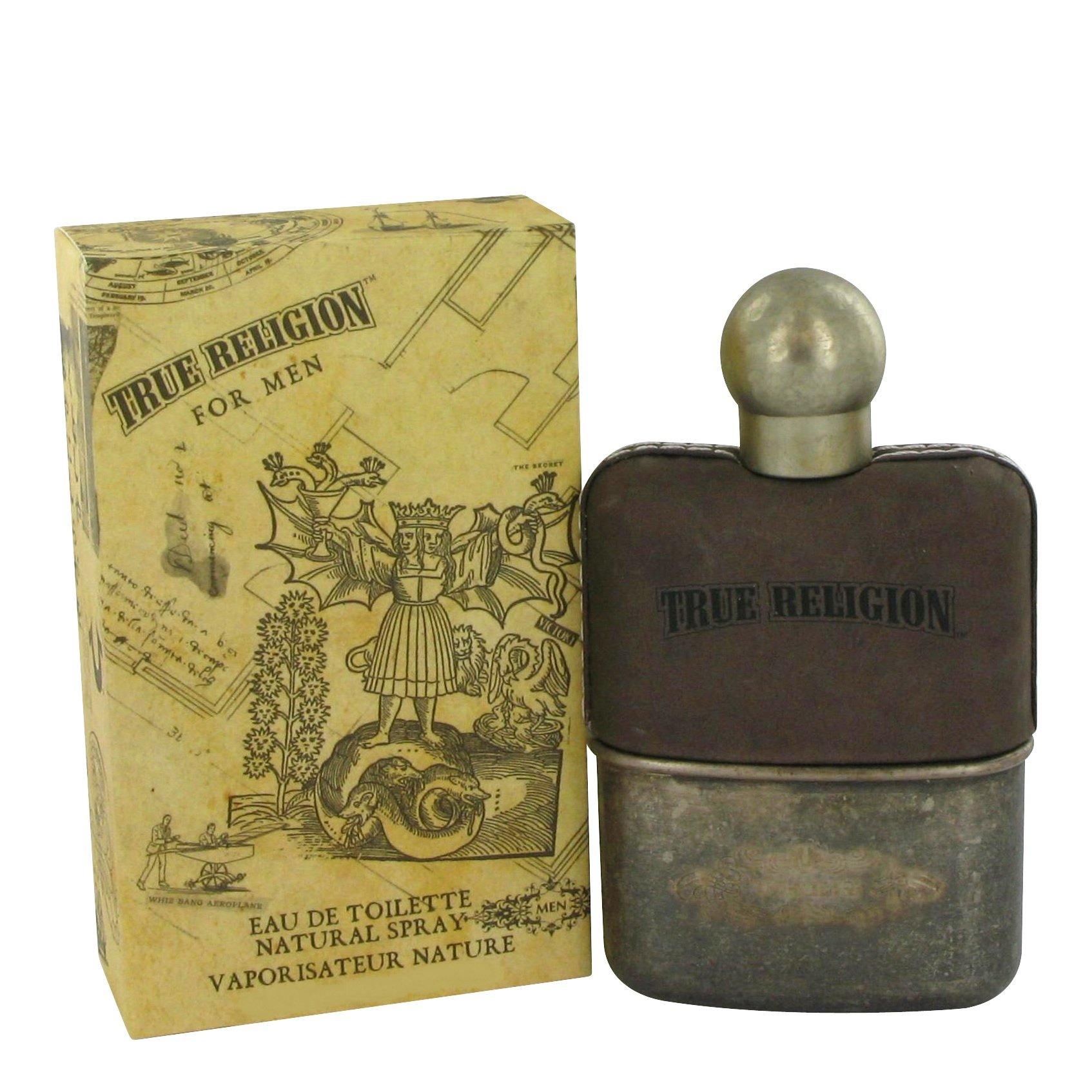 True Religion Eau De Toilette Spray for Men, 1.7 Ounce