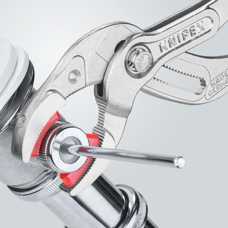 250/mm gain/ée de plastique antid/érapant tubes en plastique et connecteurs KNIPEX 81 13 250 Pince pour siphons chrom/ée
