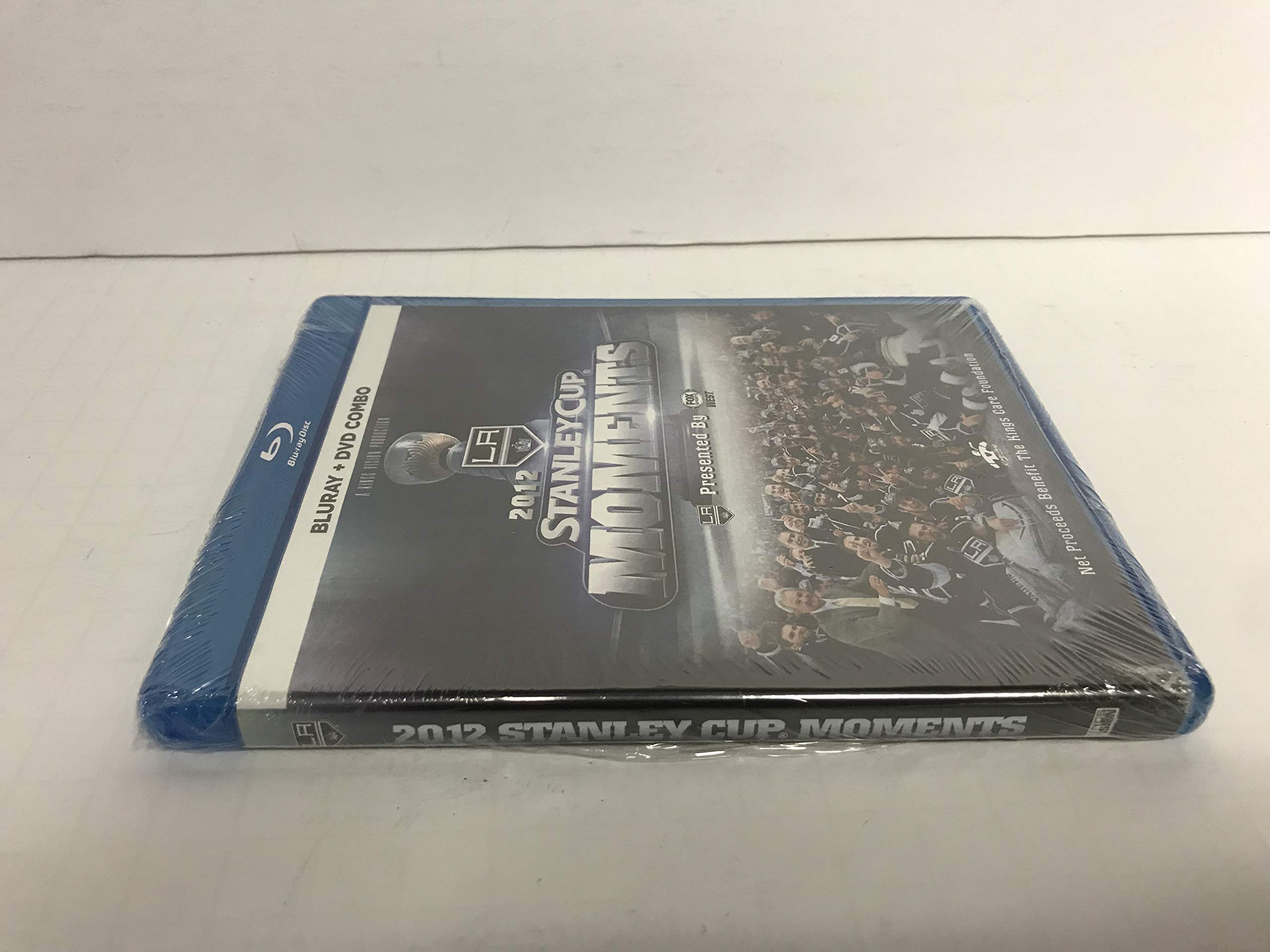 NHL Stanley Cup 2012 Champions Los Angeles Kings (Blu ray/DVD Combo) Hockey