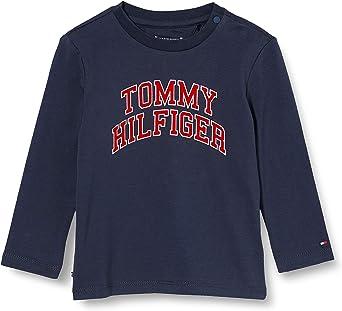 Tommy Hilfiger Baby Hilfiger tee L/S Camisa para Bebés: Amazon.es: Ropa y accesorios