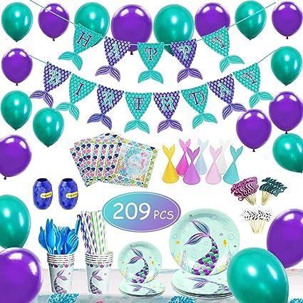 Amazon.com: Kit de decoración para fiesta de cumpleaños de ...