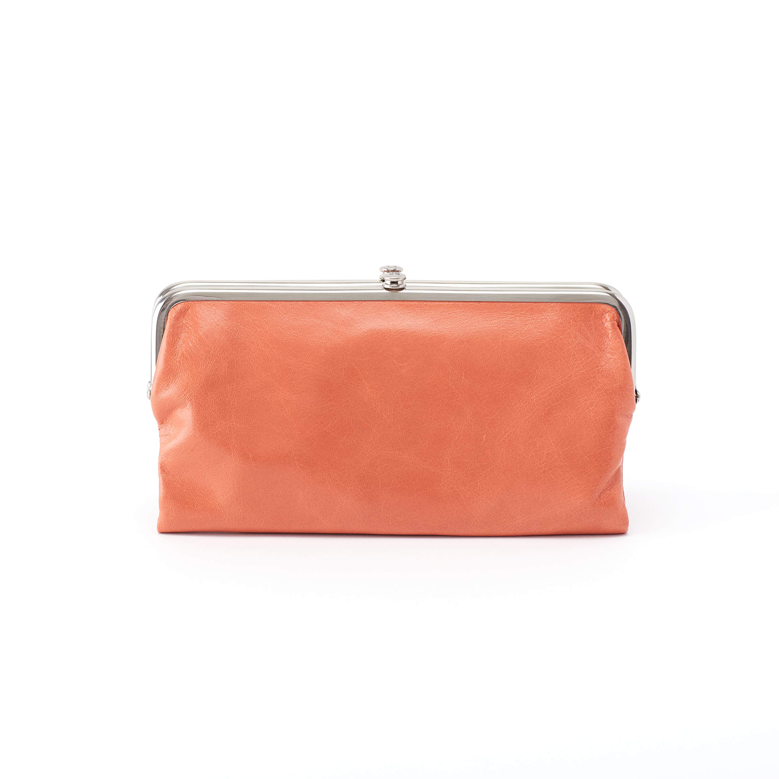 Hobo Womens Lauren Vintage Wallet Clutch Purse (Dusty Coral)