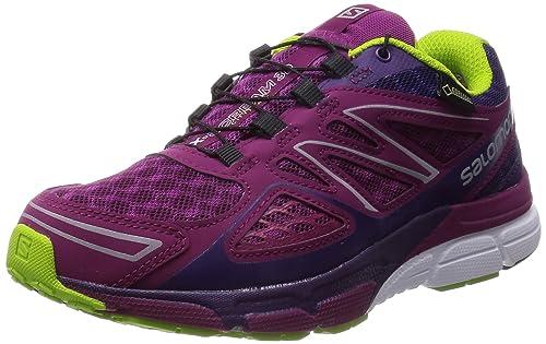 Salomon X-Scream 3D GTX - Zapatillas para Correr en montaña de Material Sintético para Mujer Morado Violett (Mystic Purple/Cosmic Purple/Granny) 40: ...