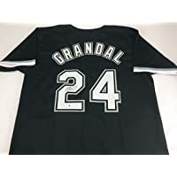 $119 » Yasmani Grandal Signed Autographed Black Baseball Jersey with Beckett COA - Chicago White Sox Catcher - Size XL