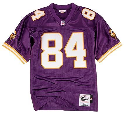f928ea5dc Randy Moss Minnesota Vikings Mitchell   Ness Authentic 1998 Purple NFL  Jersey