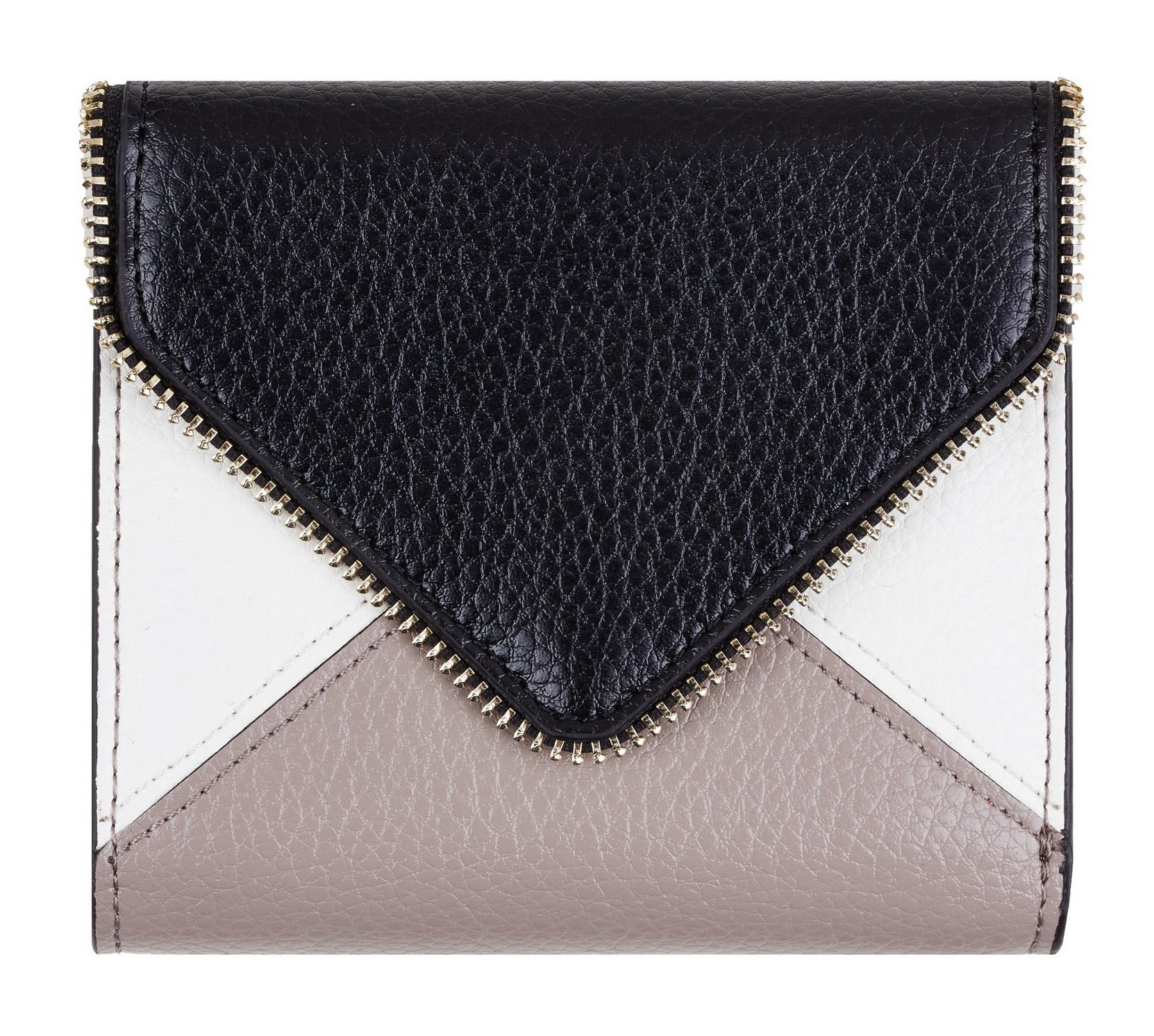 NapaWalli Womens Rfid Blocking Small Compact Bifold Luxury Genuine Leather Pocket Wallet Ladies Mini Purse with ID Window (envelop black)