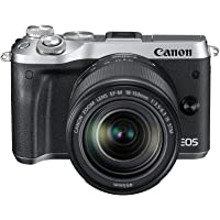 Canon M6 Mirrorless Camera with EF-M 18-150 mm Lens - Silver