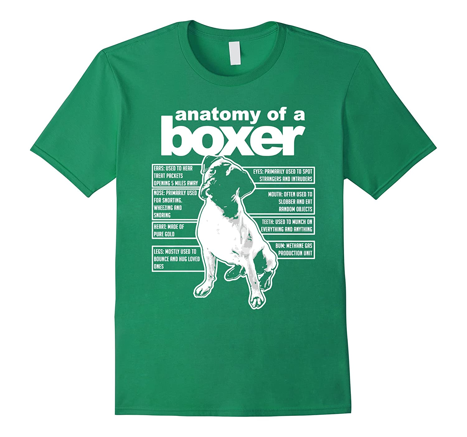 4d439005d ANATOMY OF A BOXER T-SHIRTS FUNNY BOXER SHIRTS-TH - TEEHELEN