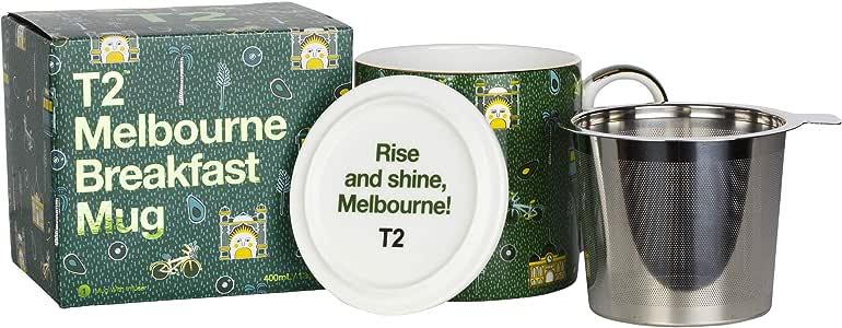 T2 Tea Iconic Mug Mug with Infuser, Melbourne Breakfast, H210BC947