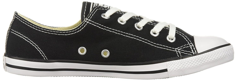 Converse Scarpe Da Ginnastica Chucks Sneaker CT OX Dainty NERO 537107c NUOVO