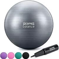 CORE BALANCE, Pelota de Pilates, Fitness, Yoga, Embarazo, Fitball para Ejercicios Gimnasia - Muy Resistente – Tamaño…