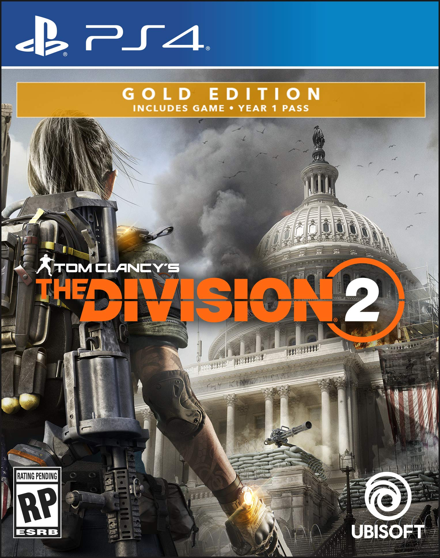 Tom Clancy's The Division 2 - PlayStation 4 Gold Steelbook..