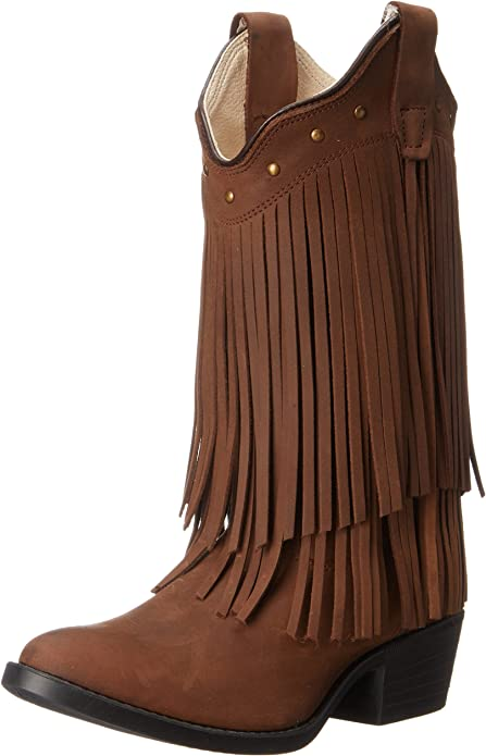 Roper Kids Fringes Western Boot