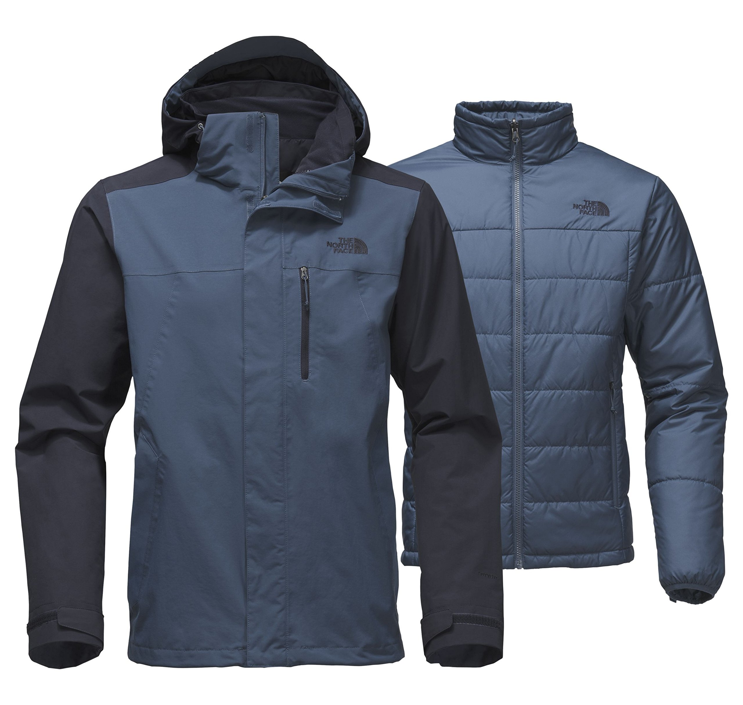 The North Face Men's Carto Triclimate Jacket Shady Blue/Urban Navy Large by The North Face (Image #1)