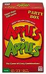 Mattel Juego de Mesa Apples to Apples Party in a Box, Multicolor