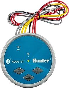 SPW Hunter Node-BT-200 Two Zone Bluetooth Enabled Irrigation Controller 9V Dual Station Timer NODEBT200