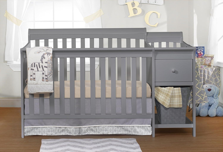 Amazon.com: Sorelle Florencia Cuna y cambiador, Gray: Baby