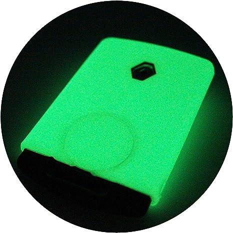 Finest-Folia colore: azzurro chiaro Custodia per chiave auto a 2 pulsanti in silicone