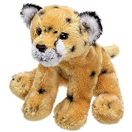 Popular suave peluche peluche Juguete de Zoo con animales de piel de guepardo – un perfecto