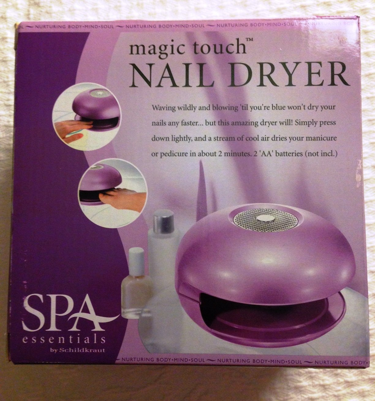 Amazon.com : Magic Touch Nail Dryer : Beauty