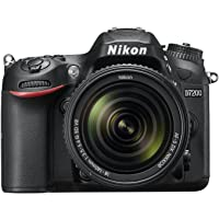 Nikon 0018208944576 D7200 Digital SLR Kamera (24.2 MP, 18-140 mm VR Lens, Wi-Fi, NFC) 3.2-Inch LCD Screen DSLR Kamera