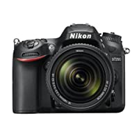 Nikon D7200 Digital SLR Camera with 18-140 mm AF-P VR Lens Kit - Black