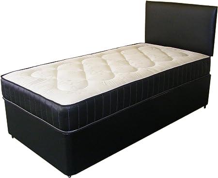 Just Beds Leather Deep Quilt Bed Divans - Budget Pick