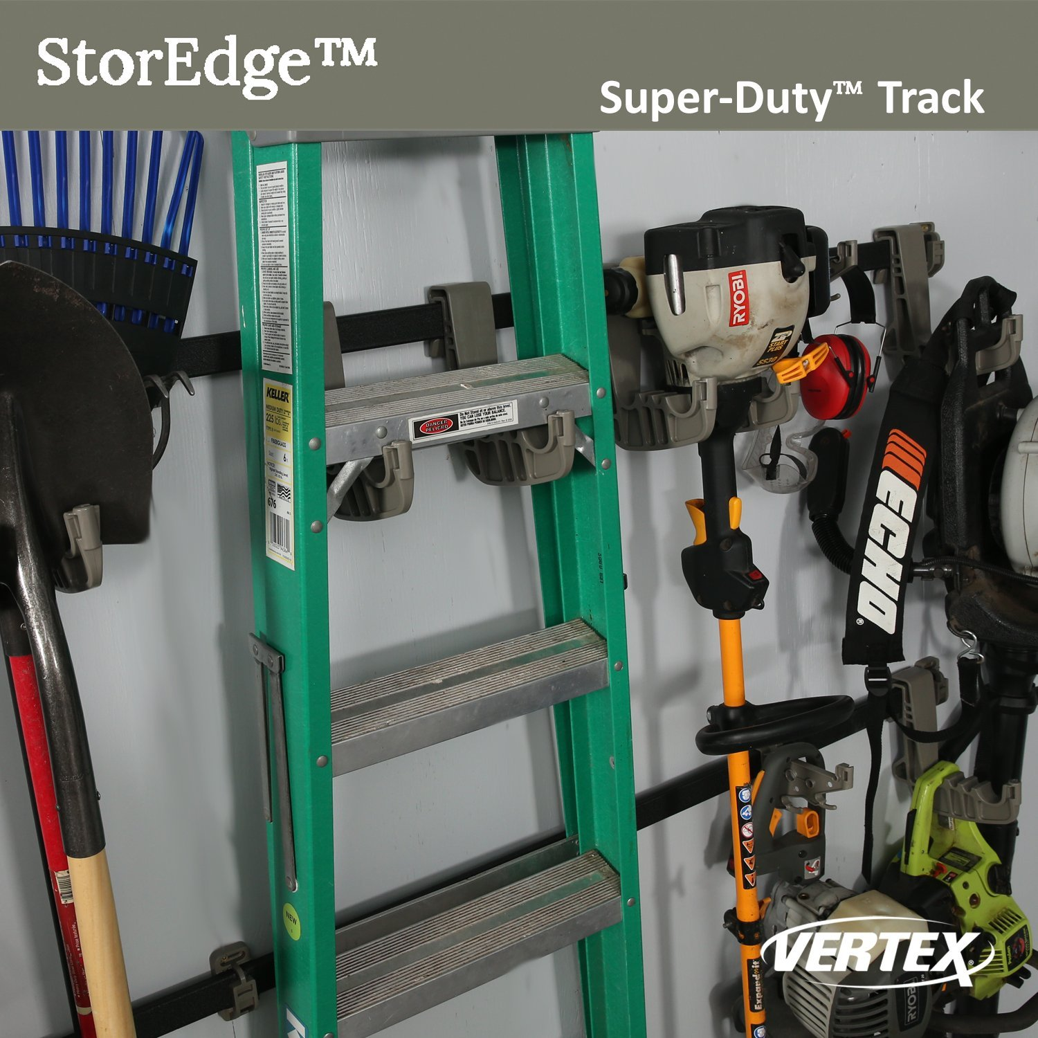 StorEdge Super-Duty Track By Vertex For StorEdge Systems - Made In USA - Model SE608 (8 Tracks)