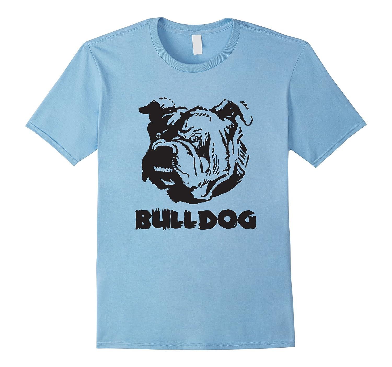 Bulldog face english bulldog lover t shirt art artshirtee T shirts for english bulldogs