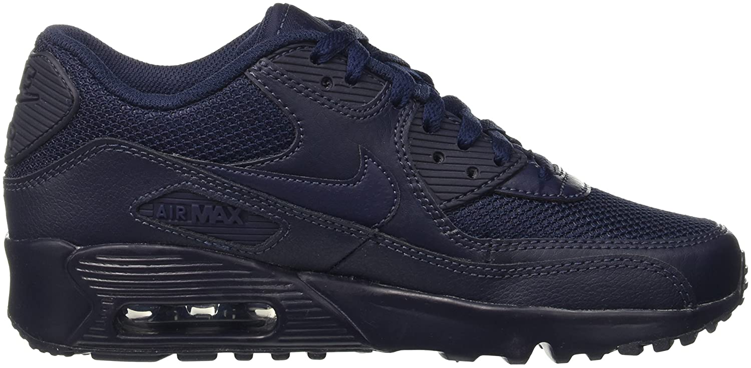innovative design affed a9cc5 Nike Boys Air Max 90 Mesh (Gs) Sneakers, Blue Obsidian, 5 UK  Amazon.co.uk   Shoes   Bags
