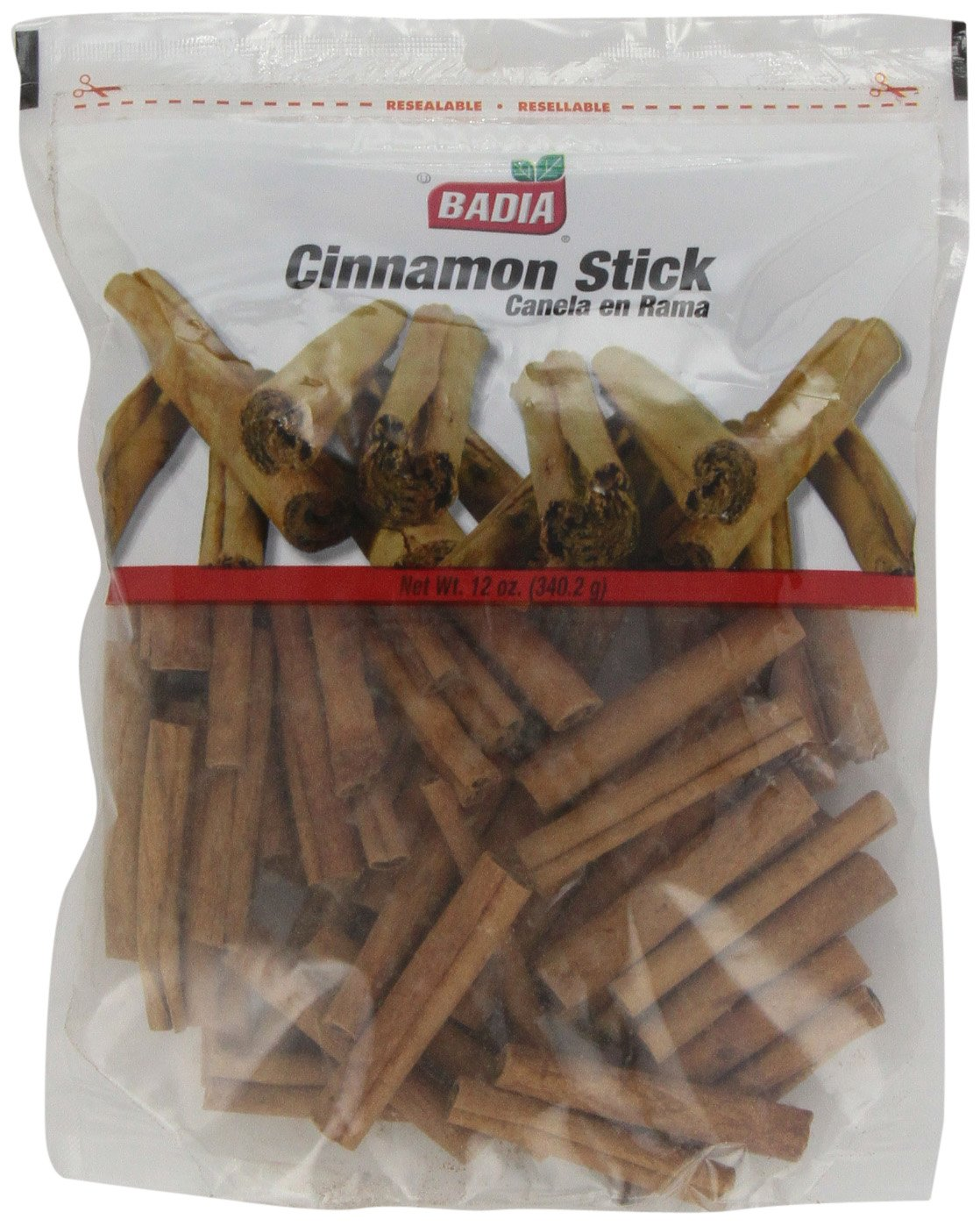 Badia Cinnamon Sticks, 12-Ounce (Pack of 6)