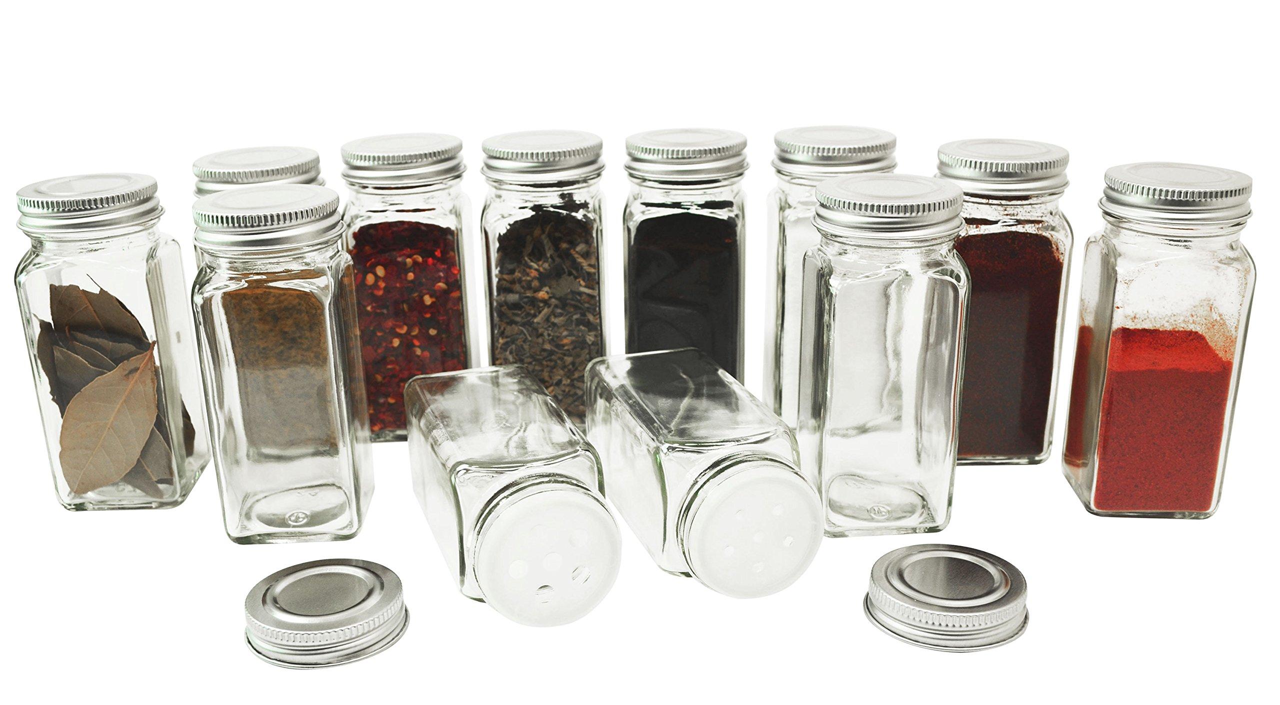 Oz Glass Jars With Metal Lids