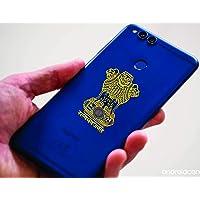 24K Gold Plating Metal Sticker(Pack of 10 PCS) Satyamev Jayate Indian National Flag Mobile Sticker 24K Gold Plating Stick to All SURFACED Mobile Phone Sticker EP Sticker