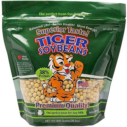 Tigre de soja Premium Certificado Sin OMG frijoles de soja ...