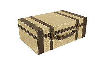 Amazon.com: Wald Imports Faux Leather Suitcase: Kitchen & Dining