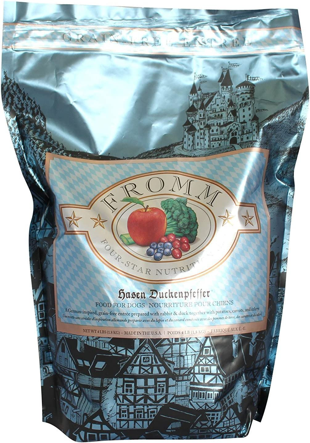 Fromm Hasen Duckenpfeffer for Dogs, 4 pounds