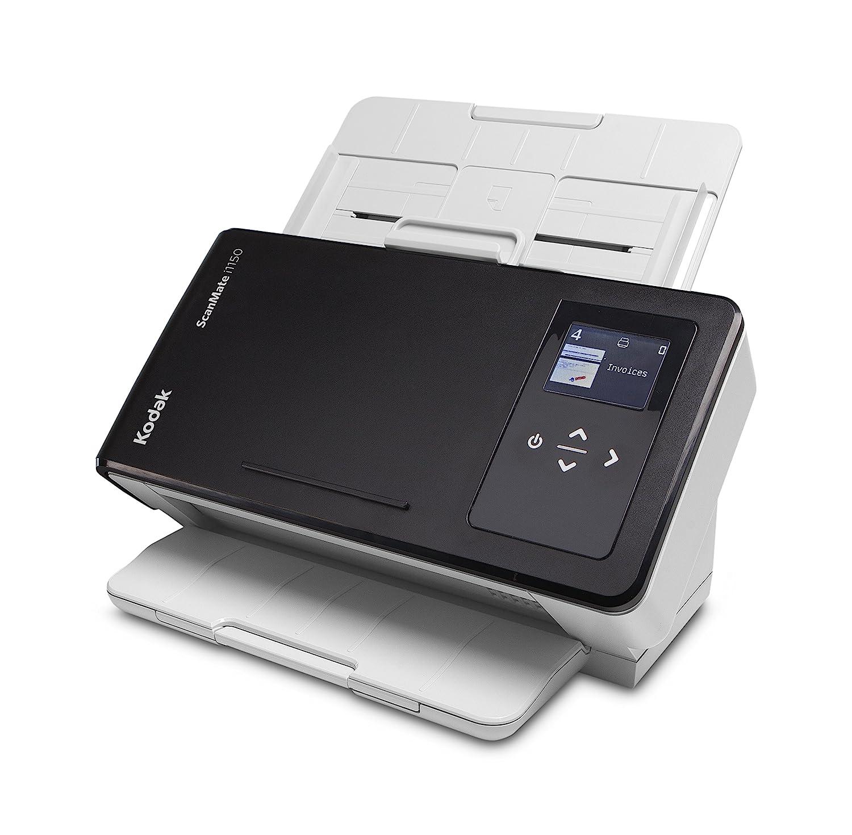 Kodak ScanMate i1150 Scanner - DIN A4 Dokumentenscanner mit 30 Blatt pro Minute, 75 Blatt Dokumenteneinzug und Perfect Page-Technologie für optimierte Bilder