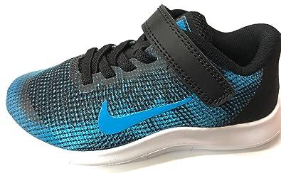 buy online dd634 ce4d1 Nike Flex 2018 RN (PSV) Black Equator Blue White (1.5 M US