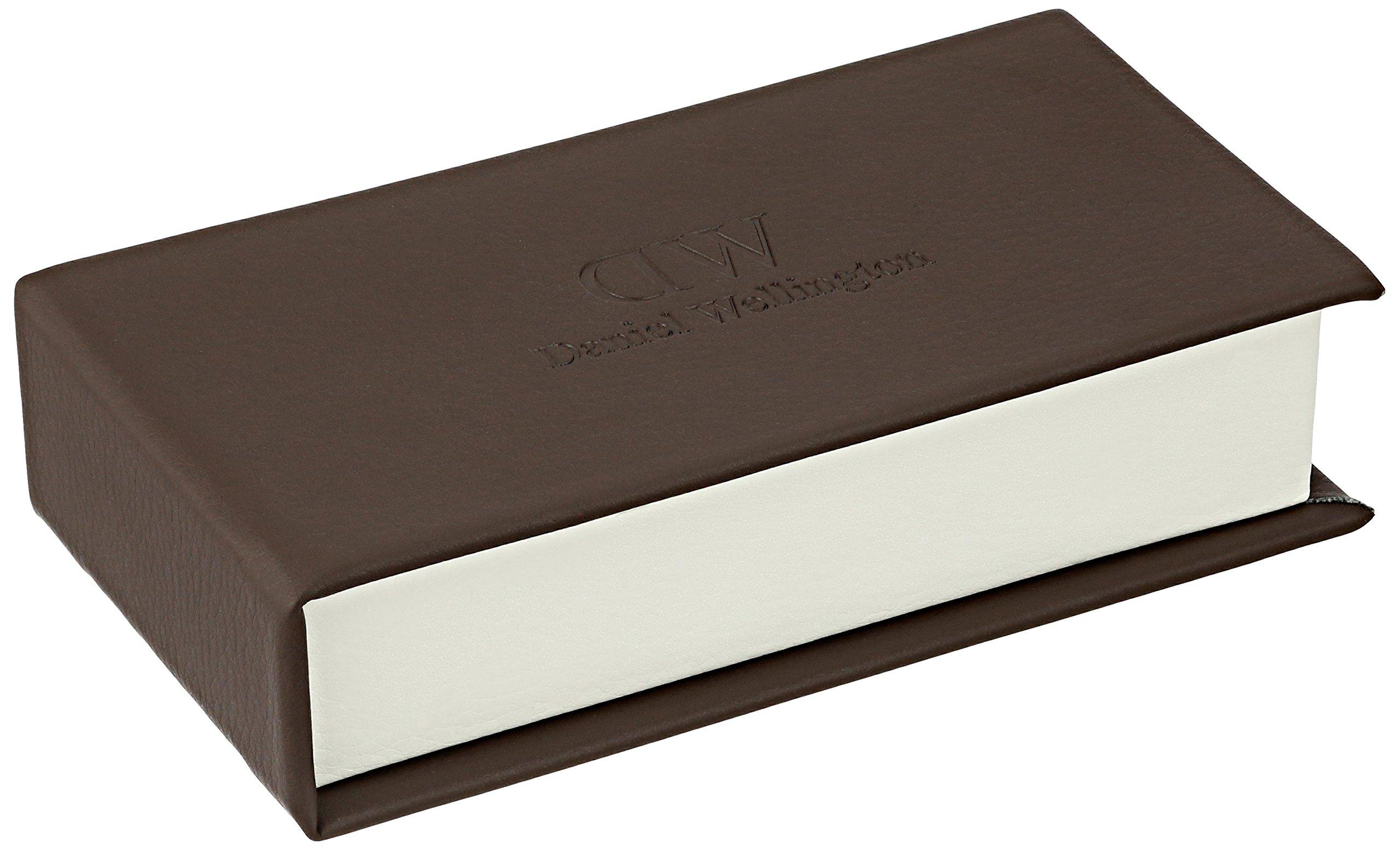 Daniel Wellington 'Classic Petite' Quartz Stainless Steel Casual Watch, Color:Silver-Toned (Model: DW00100220)