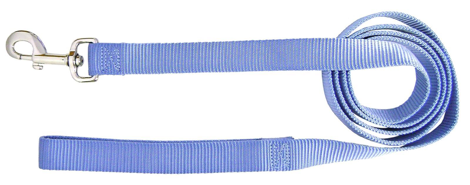 Hamilton Single Thick Nylon Dog Lead 1- SLO 6BY Berry Blue - 1
