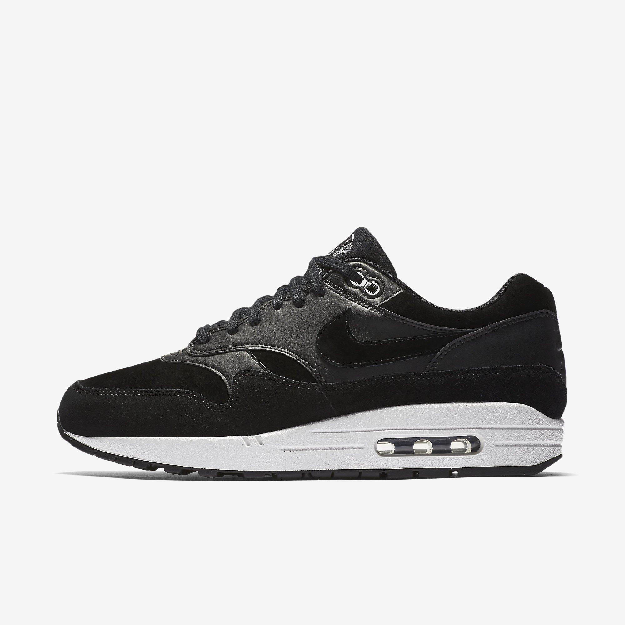 Size Skulls Mens Max Suede 10 Air Blackchrome Premium Nike 1 3qj5R4AL
