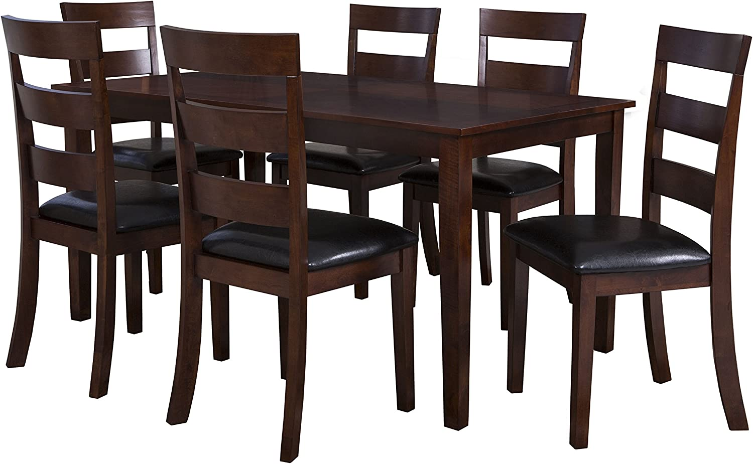 Powell's Furniture 182-730 Linville Dining Set, Cherry